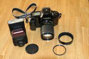 Canon T90 analoge Spiegelreflexkamera