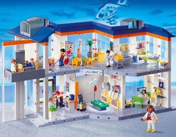 Playmobil 4404 - Großes Krankenhaus mit