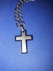 Halskette aus 925er Silber Kreuz