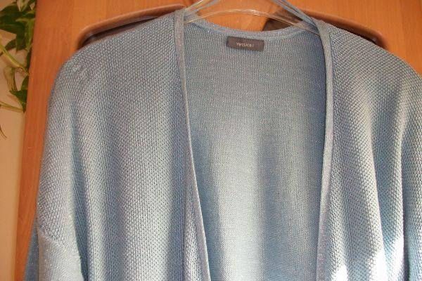 Strickjacke hellblau Gr XL neu