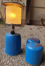 Gaslampe mit 2 Kartuschen