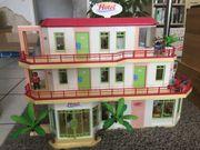 Playmobil Hotel mit Erweiterung