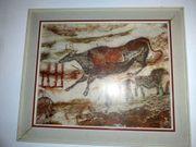 Wandbild Höhle von Lascaux Kunstdruck -