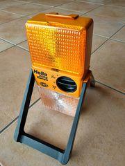 Warnlampe Blinklicht und Arbeitslampe Marke