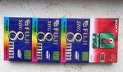 Videocassetten Video 8 SHG 8
