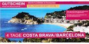 reisegutschein Costa Brava Barcelona für
