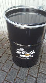 Drum Grill-Chicken Schmiede-Feuerstelle