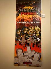 Flipper Pinball Banner Stern Metallica