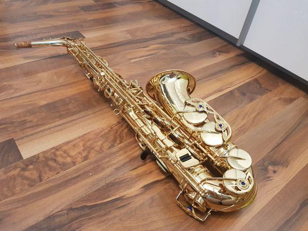 Neuwertiges Jupiter Alt-Saxophon Dirko Juchem