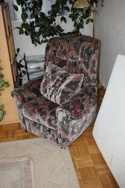 Sessel ausklappbares Fußteil zu verschenken