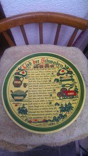 Antiker Deutscher Teller zu verkaufen