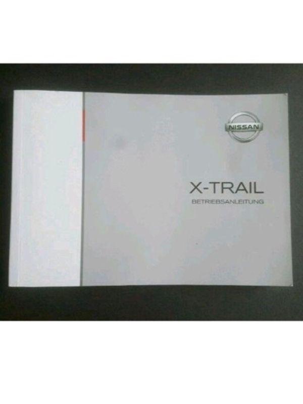 Nissan X-TRAIL Betriebsanleitung 2016