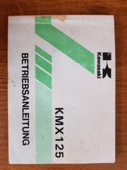 KAWASAKI KMX125 B - Betriebsanleitung