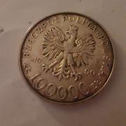 Silbermünze Polen