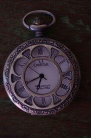 Mechanische Taschenuhr Messing Bronze Uhr