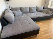 Couch inkl neuer Sitzhocker