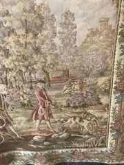 Wandteppich Gobbelin ca 90x88 cm