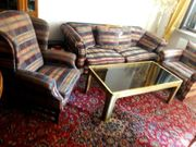 Sofagarnitur 4-teilig Couch Sofa Sessel