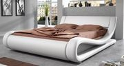 Design Bett sandfarben