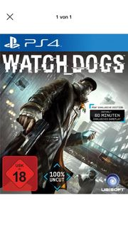 Watch Dogs PS4 Spiel