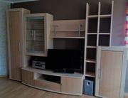 Moderne Anbauwand Wohnwand zu verkaufen