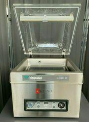 Vakuumkammer Henkelman JUMBO35 Edelstahl-Gehäuse Acrylglasdeckel