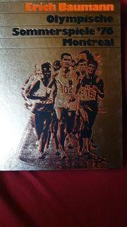 Buch olympische Sommerspiele 76 Montreal