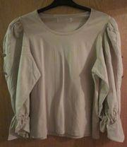 Gr 40 Trachten-Shirt beige Trachten-Rock