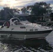 cabin cruiser boat Sealine 255