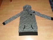 Pullover von Fishbone schwarz-weiß mit