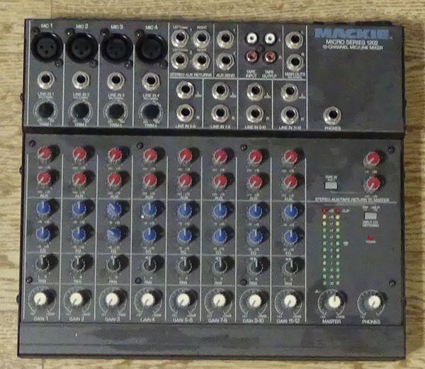 Mischpult Mäckie Micro Series 1202
