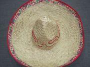 Sombrero Mexikaner Hut Poncho Fasching