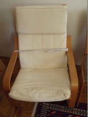 Bequemer Sessel mit Polsterauflage
