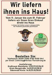 BARF - Hundefutter - Lieferservice Großraum Mannheim -