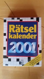 Rätsel-Kalender 365 Schwedenrätsel - Sprüche Zitate