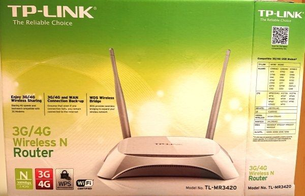 TP-Link Wireless Router 3G 4G