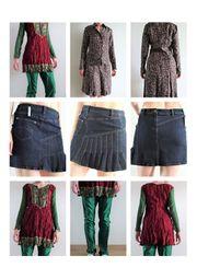 Damenbekleidung Mädchenbekleidung Röcke Anzüge usw