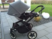 Bugaboo Buffalo Grey Schwarzes Top