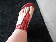 Sandalen Zehentrenner Gr 39