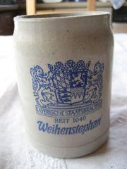 Schöner alter Bierkrug von der