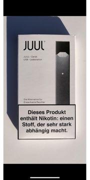 JUUL device gerät grau schwarz