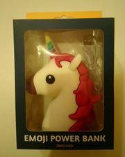 Spralla Emoji Powerbank Einhorn NEU