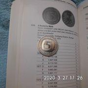 5 DM 1989 D Bank-frisch