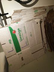 65 Stk Umzugskartons