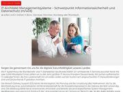 IT-Architekt Managementsysteme - Schwerpunkt Informationssiche