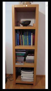 Bücherregal Holz natur