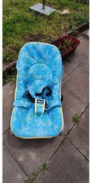 Super Babywippe chicco gelb blau