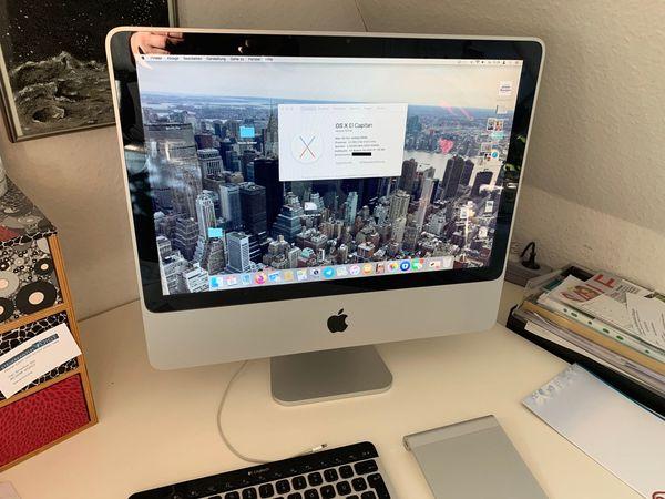 iMac 20 Zoll 2008 750GB