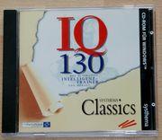 CD-ROM - IQ 130 - PC-Spiele - Intelligenz-Trainer -