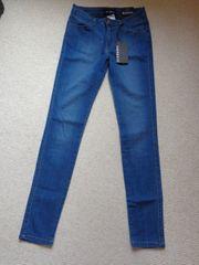 Jeans Skinny-Jeans blau Gr 7